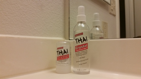Thai Crystal brand deodorants