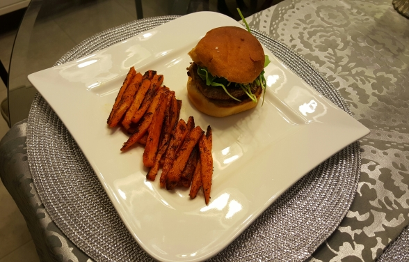 Not your typical burger and fries!  Satisfy your craving without sacrificing your diet!